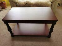 Argos Home Devon Solid Pine Coffee Table - Walnut Effect