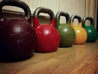 32kg Competition Kettlebell's Wolverson