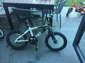 "16"" Raleigh Zero bicycle"