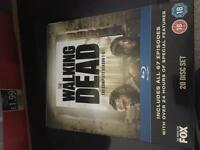 Walking dead season 1-5 Blu Ray PERFECT CONDITION
