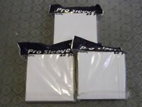 75 new shrink-wrapped PRO SLEEVE high quality CD/DVD storage cases/mailers