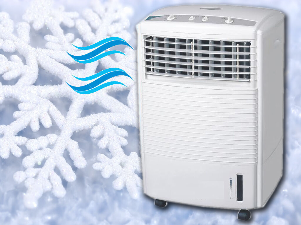 Portable Cold Air Fan : New portable evaporative speed oscillating fan air