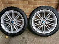 "BMW M SPORT 17"" ALLOYS"