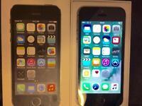iPhone 5s 16gb Black & Grey Boxed 02/Giff gaff/tesco Sim Locked