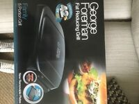 BRAND NEW, George Foreman 20840 5 Portion Removable Plates Health Grill