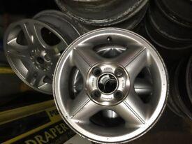 "Ford Fiesta alloy wheels 14"" 4x108"