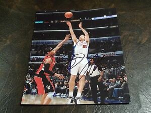STEVE NOVAK AUTOGRAPHED CLIPPERS 8X10 PHOTO W/COA