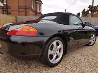 Porsche Boxter S For Sale, yr 2000,pvt plate included, recent new hood, mot d, most service history