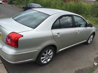 AUTOMATIC TOYOTA AVENIS 2004 5DR MOT TILL 25/04/2018 GOOD CONDITION