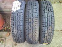 3 155 x 13 tyres £10 each