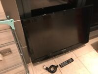"""Samsung 37"""" Hd tv.full working order.No stand(can be wall mounted or stand available on eBay)"""