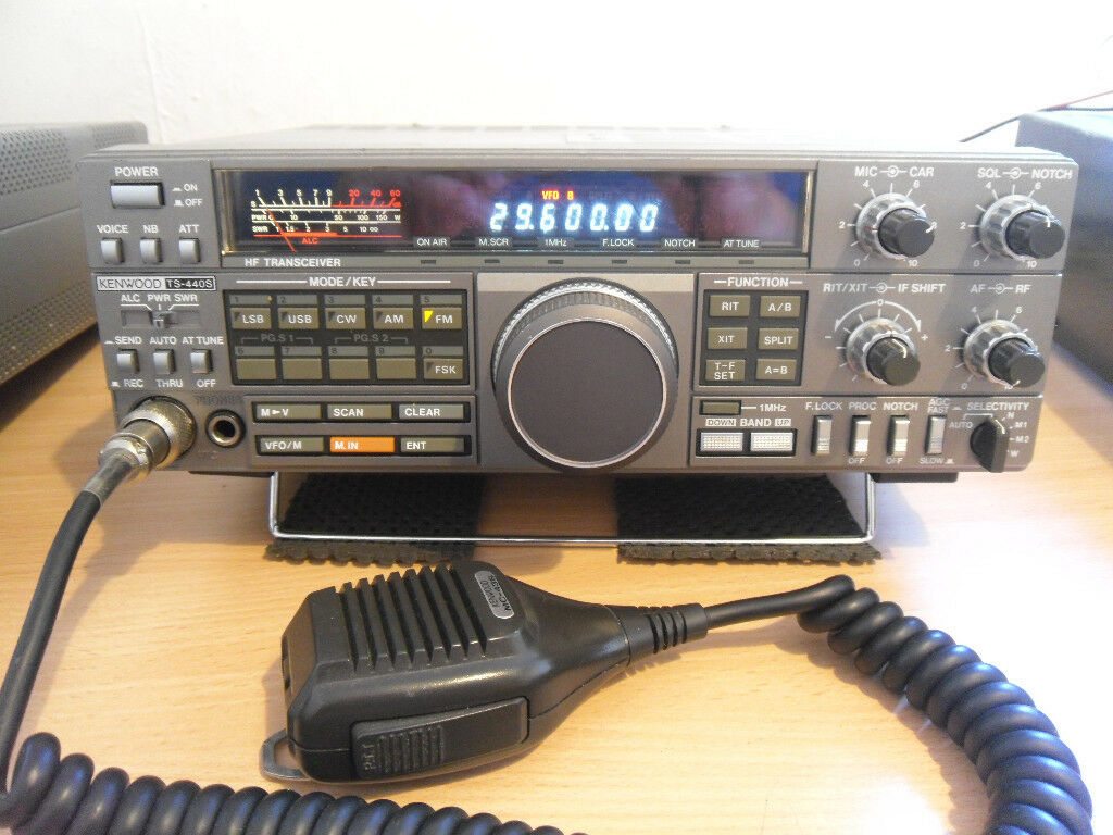 Kenwood HF Transceiver TS-440S Original Instruction Manual ...