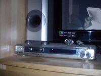 sanyo dvd movie theatre surround sound system x5 speakers