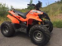 Road legal 100cc quad