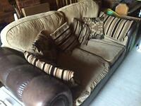 Cuddle chair and sofa