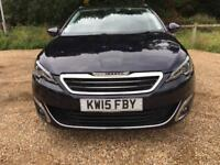 Peugeot 308 2015 1.6 HDI SW ALLURE 5d 115 BHP,ECO Free RoadTax,BARGAIN,DAMAGED REPAIRED,ESTATE