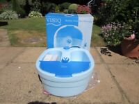 New Visiq foot spa.