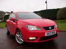 2015 SEAT IBIZA TOCA 3 DOOR*ONLY 13,000 MILES*AS NEW!!!