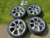 17 ince chrome alloy wheels