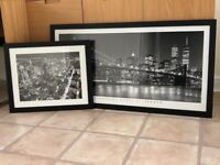 New York framed pictures