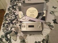 Ted Baker Audio Finisterre DAB/DAB+/Fm Radio & Bluetooth Speaker