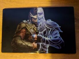 Middle earth shadow of war gold edition steelbook ps4