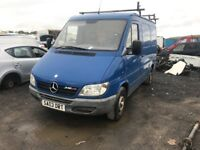 MERCEDES SPRINTER PARTS AVAILABLE