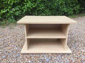 IKEA Flarke TV Cabinet / Shelf / Unit Beech Coloured