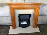 Dimplex Kansas electric fire and surround