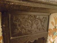 Cast Iron Fireplace Insert & Surround