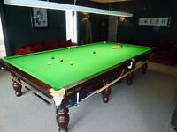 Snooker table full size Riley Strachan