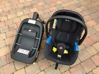 Silver Cross Simplicity baby car seat with Isofix base