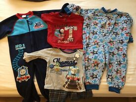 Bundle of 'Thomas the Tank Engine' PJs/T-shirt/Wellies (1-2 Years)