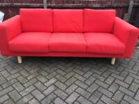 Lovely Ikea 3 seater sofa-£100 delivered