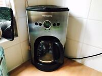 Andrew James Coffee Machine with Clock/Timer