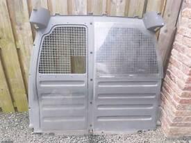 CADDY 03-09 BULK HEAD GREAR CONDITION 2 PLASTIC WINDOWS