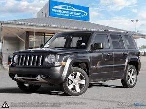 2016 Jeep Patriot High Altitute Edition 4x4 Leather Sunroof