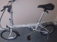 bike. Dahon pop . foldup bike.
