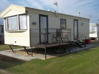 CARAVAN TO RENT/HIRE/LET IN INGOLDMELLS**BANK HOLL WEEKEND AVAILABLE