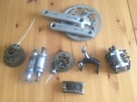Road Bike Parts - Cranks, Pedals, Brakes, Cassette, Bottom Brackets, Tools