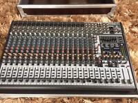 Behringer Eurodesk SX-2442FX 24 Channel Live/Studio Mixer