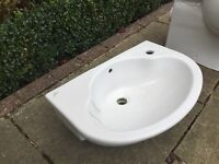Ideal Standard Spacesaver toilet and semi recessed sink