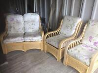 3 piece conservatory chairs