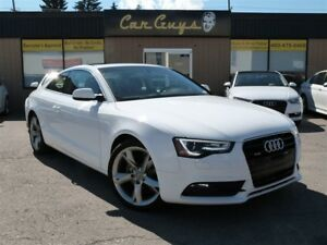2014 Audi A5 2.0 - H. Leather, Moonroof, 19 Alloys, Quattro