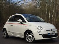 FIAT 500 LOUNGE PANORAMIC ROOF 1.4 MANUAL HIGH SPEC LOW MILEAGE RECENT SERVICE