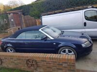 Audi 2.4 l convertible 2002 895ono roof dosnt work