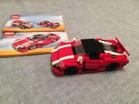 Lego Creator Lego 3 in 1 racing car