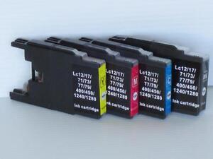 New Compatible Ink Cartridges for Brother LC-71/75/79 fit MFC-J280/J425/J430/J435/J625/J825/J835/J5910/J6910 $4.00/each
