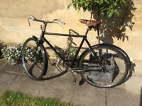 1948 Raleigh All Steel town bicycle for sale