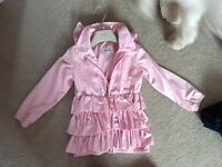 A dee pink girls jacket